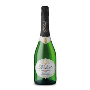 slovenské šampanské Hubert Cabernet Sauvignon Blanc De Noir