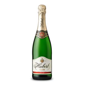 slovenské šampanské Hubert Club Polosladke