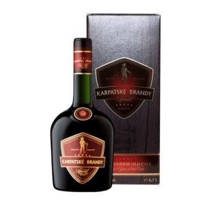 Karpatské Brandy Špeciál VSOP v darčekovej krabici