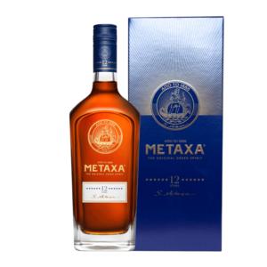 Metaxa 12 ročná darčekový box