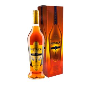 Metaxa 7 v darčekovej krabici