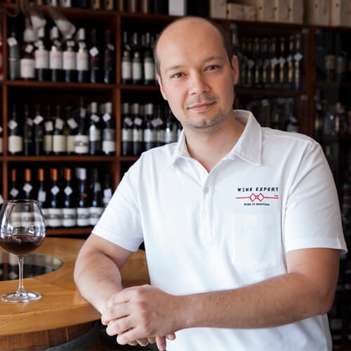 CEO sommelier David Winter