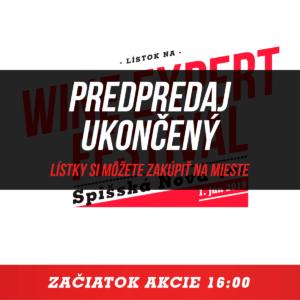 Lístok Wine Expert Festival Spišská Nová Ves 2019