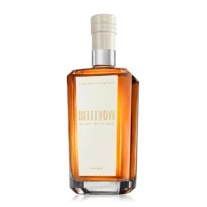 Francúzska whisky Bellevoye Blanc Sauternes spoločnosti Les Bienheureux