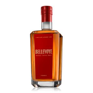Francúzska whisky Bellevoye Rouge Grand spoločnosti Les Bienheureux