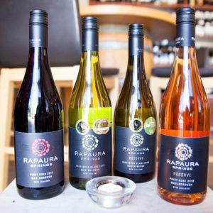novozélandske vína Rapaura