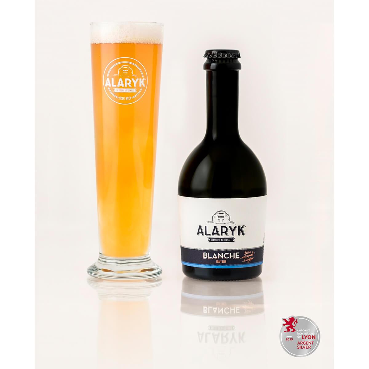 Alaryk 100 % bio pivo Blanche