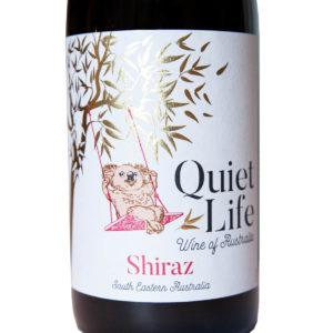 australske vino Quiet Life Shiraz etiketa
