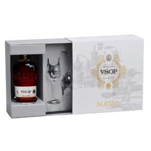 Naud VSOP box Cognac
