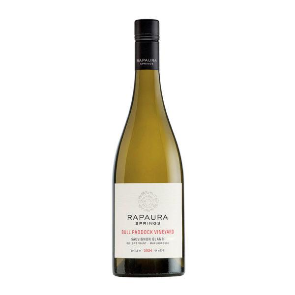 rapaura springs Sauvignon Blanc Bull Paddock Vineyard vino