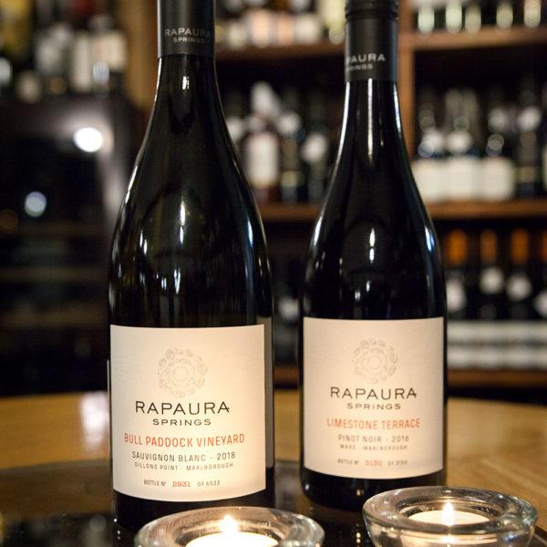 rapaura springs Sauvignon Blanc Bull Paddock Vineyard novy zeland
