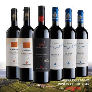 Balíček supertoskánskych vín Poggio Al Tesoro taliansko