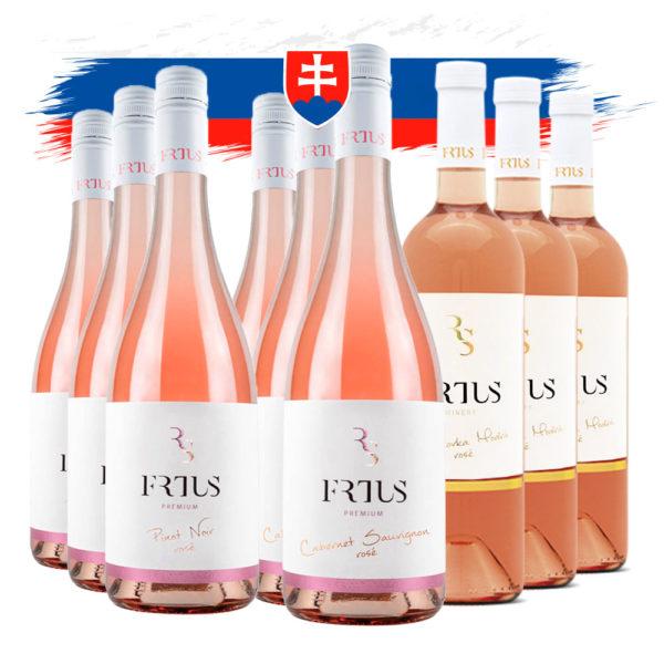 frtus winery rose