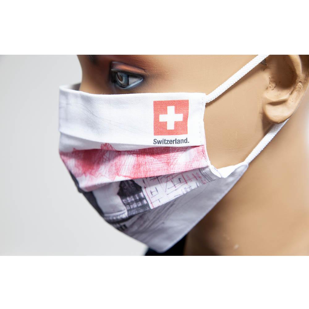 Ochranné rúško sgrafikou Luzern