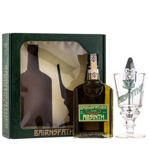Bairnsfather Absinth 0,5l 55% GB + 1 pohár + lyžička