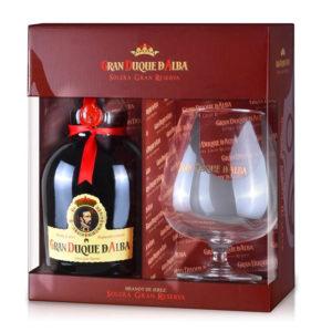 Gran Duque de Alba 0,7l 40% GB + 1 pohár