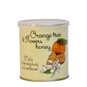 Grécky pomarančovo-kvetinový med