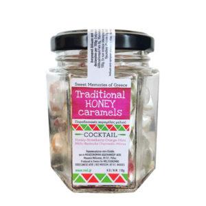 Tradičné grécke medovo-karamelové cukríky karamelky