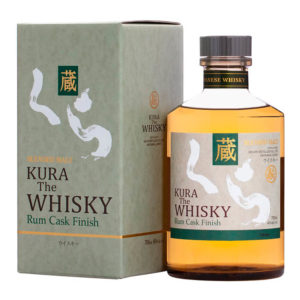 Kura Whisky Rum Cask Finish 0,7l 40% GB