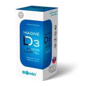 MAGNE D3 STRESS CONTROL 60 kapsúl