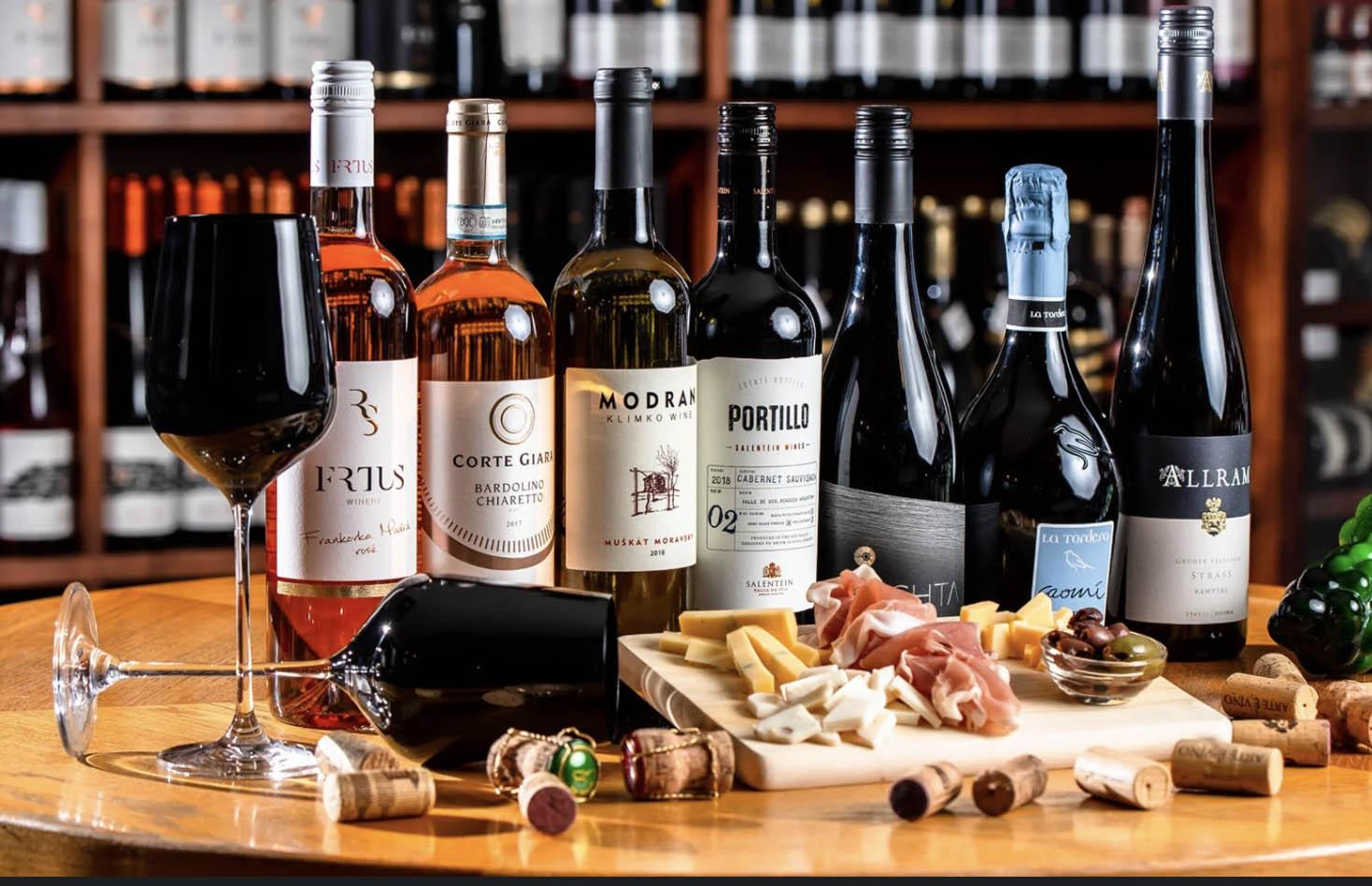 Degustácie vo Wine Expert