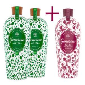 gin Generous Organic a Prple