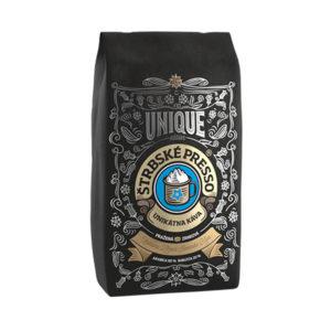 ŠTRBSKÉ PRESSO zrnkova-kava-zmes-unique-brown-250g