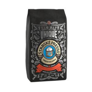 ŠTRBSKÉ PRESSO zrnkova-kava-zmes-unique-red 250g