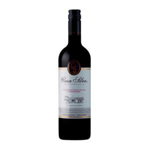 Casa Silva Carmenere Cab sav organic wine