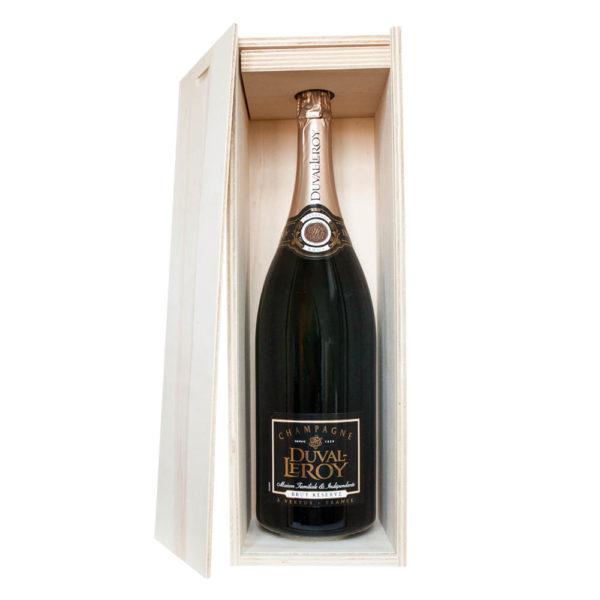 Duval-Leroy Champagne Réserve brut 3 l v krabici