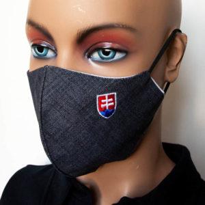 ochranne rusko vysivany slovensky znak cierne antracit 2