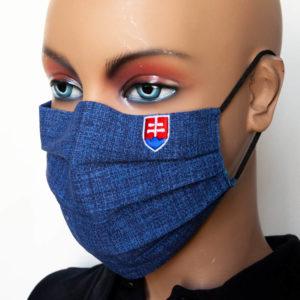 ochranne rusko vysivany slovensky znak modre skladane 2