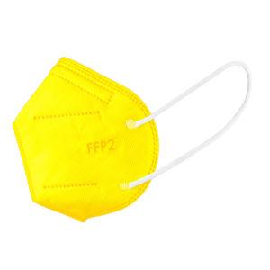 zlty respirator ffp2 farebny