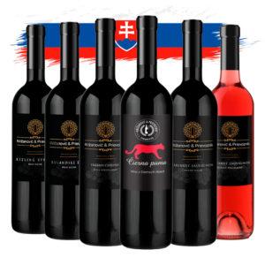 Križanovič & Prievozník balik slovenskych vin