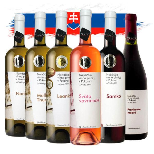 Balíček Najväčšia vínna pivnica v Pukanci