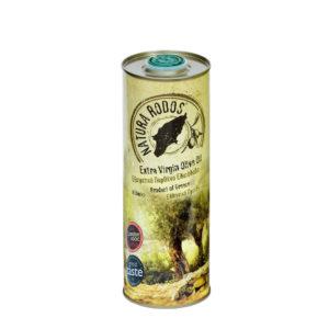 Extra panenský olivový olej Natura Rodos vplechovke 500 ml