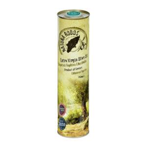 Extra panenský olivový olej Natura Rodos vplechovke 750 ml