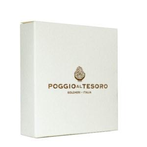 Extra panenský olivový olej Poggio al Tesoro 40 ml darcekove balenie