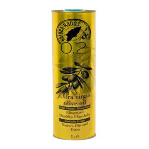Grécky olivový olej - Natura Rodos 0.2 Extra Virgin 1L plech