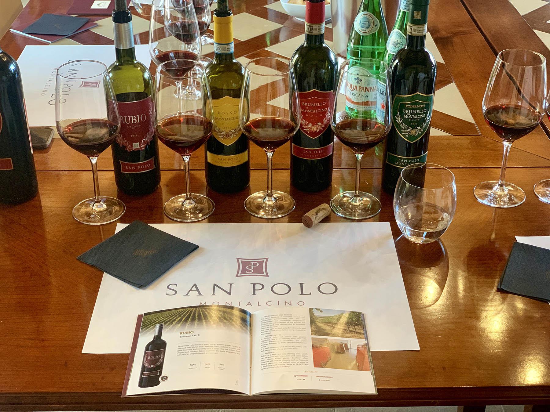 San Polo Brunello talianske vino toskansko