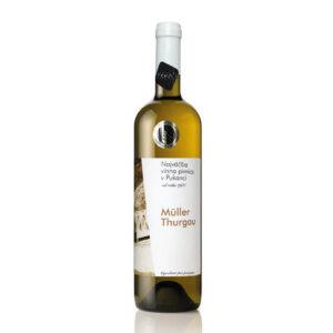 vino Najväčšia vínna pivnica v Pukanci Muller Thurgau