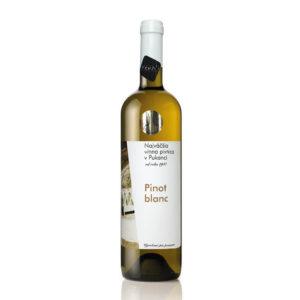 vino Najväčšia vínna pivnica v Pukanci Pinot blanc