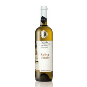 vino Najväčšia vínna pivnica v Pukanci Rizling vlassky